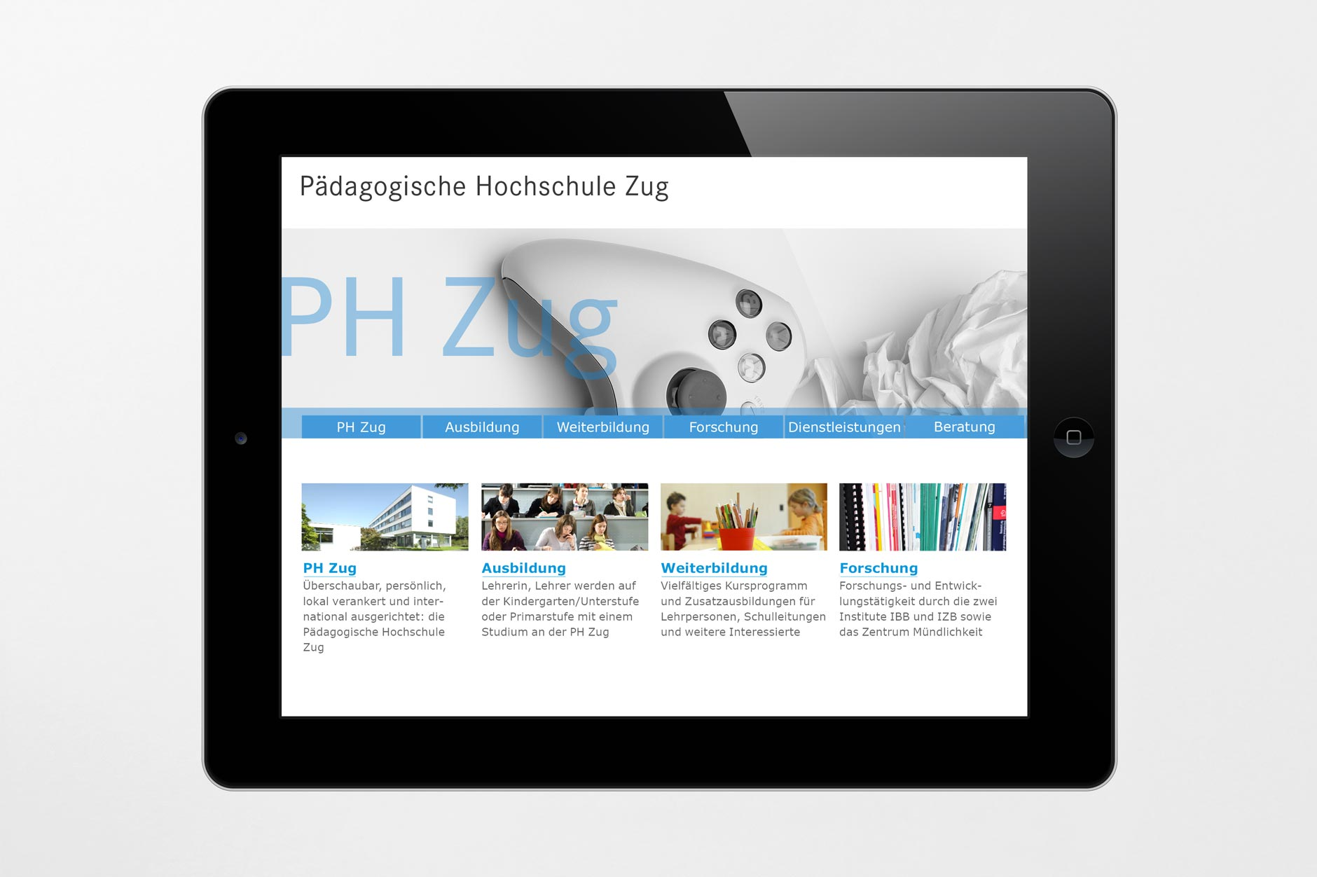 Tablet Design PH Zug