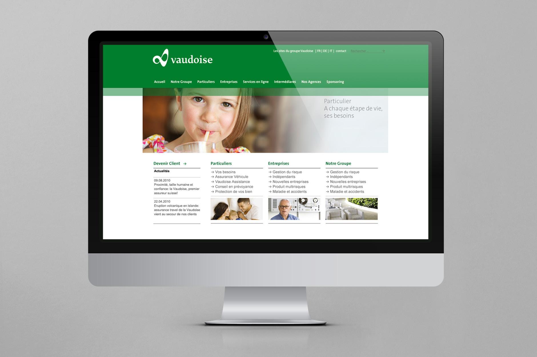 Vaudoise Desktop