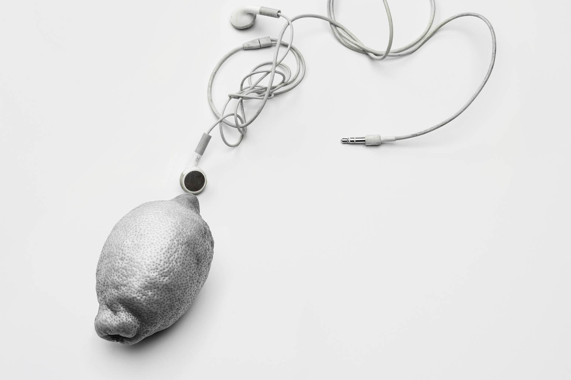 PHZ Zitrone Kopfhörer