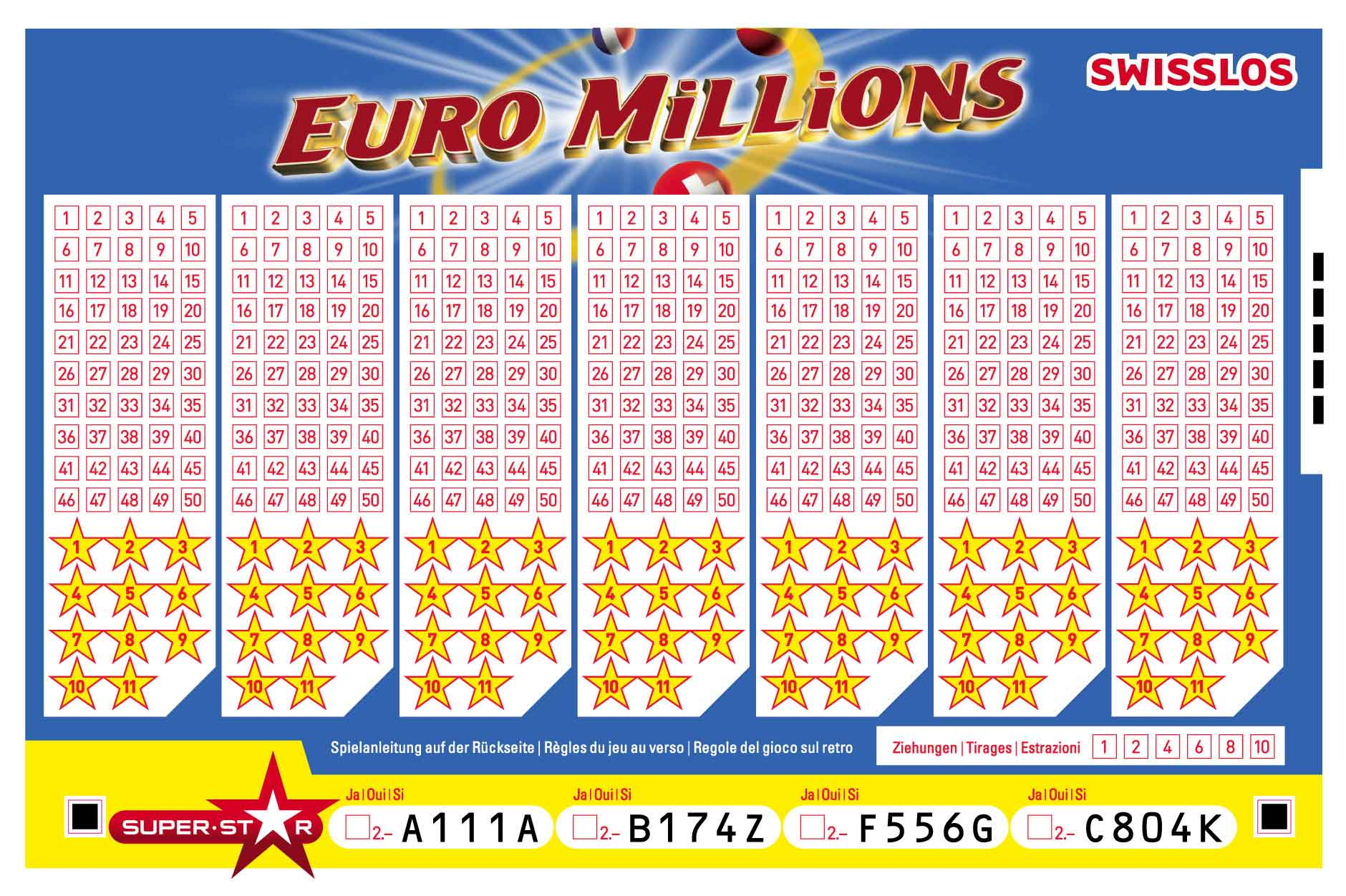 Swisslos Euro Millions