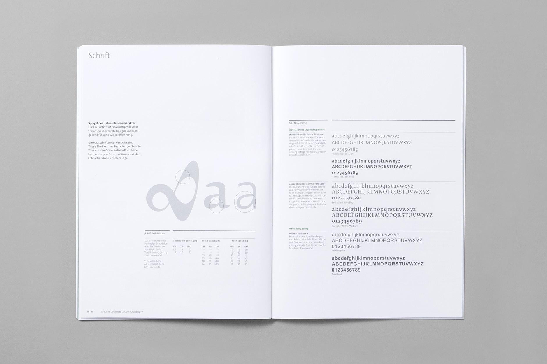 Corporate Design Vaudoise