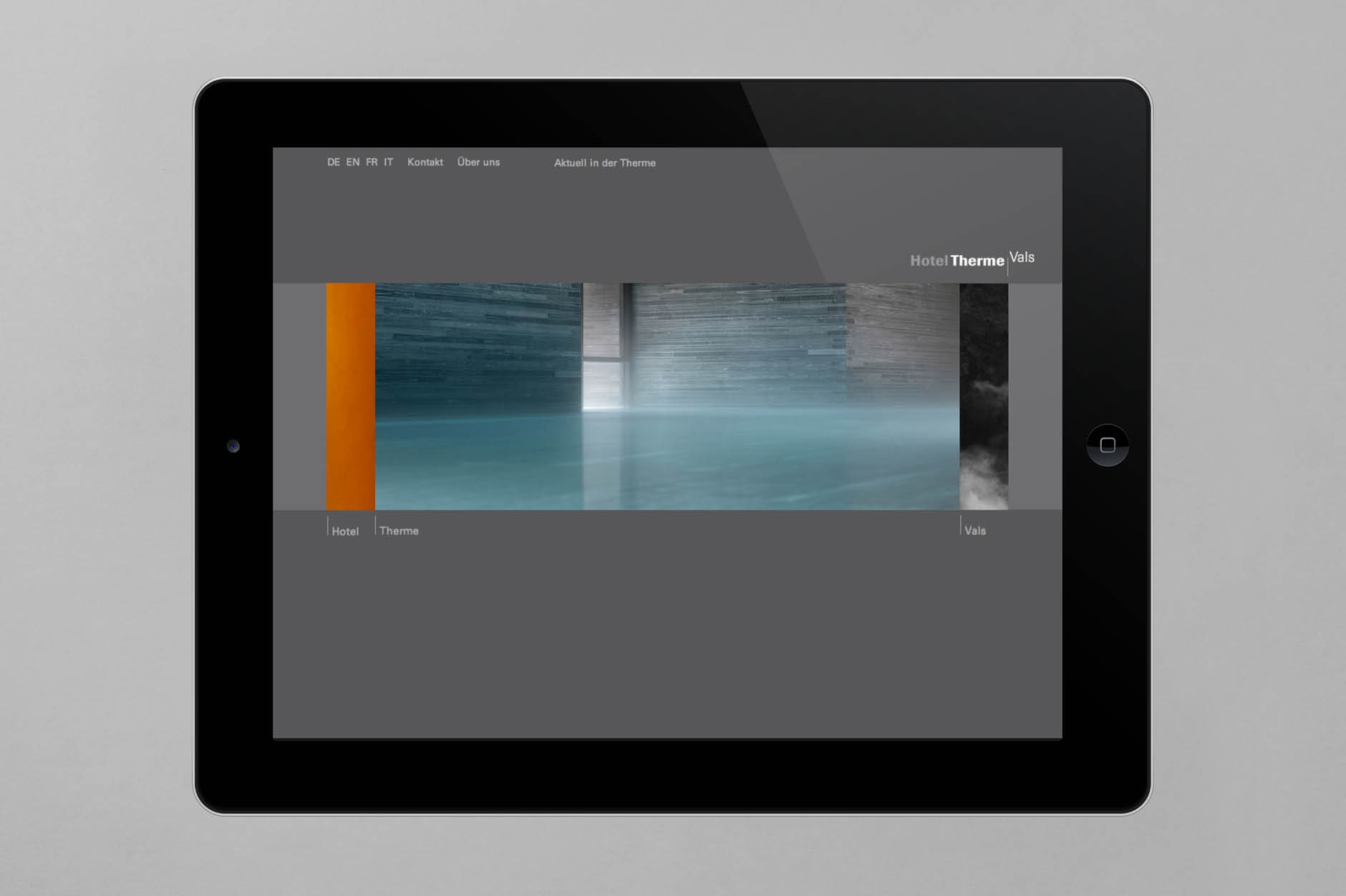 Therme Vals Tablet